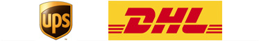Ups & DHL betalnings logor