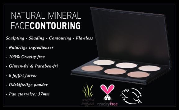 Contouring kit Naturlig fra CORE cosmetics