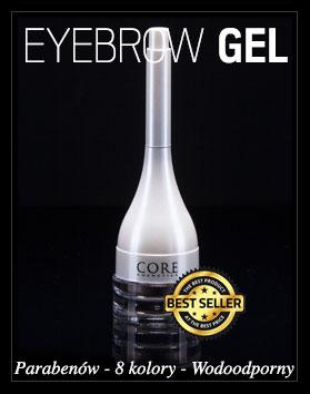 Gel Eyebrow Parabenów 8 kolory Wodoodporny