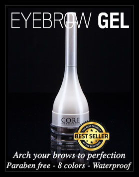 Eyebrow Gel CORE Cosmetics cruelty free